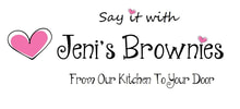 Say it with Brownies - Jeni's Homemade Brownies by post